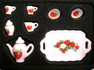 Tea Set Strawberry Design