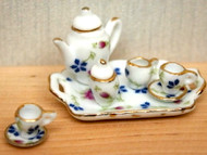 Tea Set Floral Design