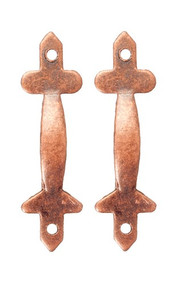 Pair of Bronze Door Pulls