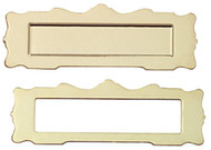 Brass Coloured Letterbox