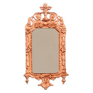 Ornate Bronze Victorian Mirror