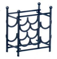 Black Wine Rack