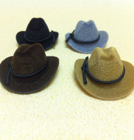 Choice of Four Different Coloured Cowboy Hats