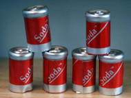Six Cans Of Cola