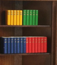 Four Assorted Bright Coloured Block Books