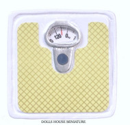 Green & White Bathroom Weighing Scale