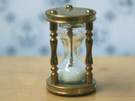 Working Brass Hourglass