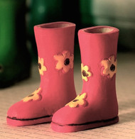 Flower Power Wellies
