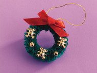 Teddy Christmas Wreath