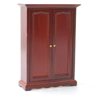 Mahogany Two Door Wardrobe