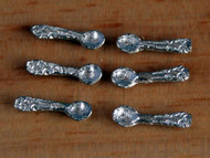 Pewter Tea Spoons Pack of Six