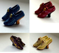 One Pair of Ladies Heeled Shoes Choice of Four Colours