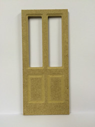 MDF Door With Two Apertures