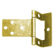 2 Cranked Flush Hinges & Screws