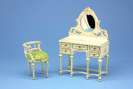 Beautiful Hand Painted Dressing Table & Chair