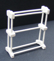 White Towel Rail Rack