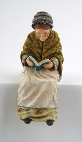 Grandmother Sitting Figurine