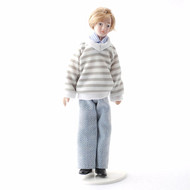 Young Male Doll Billy with Blonde Hair