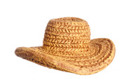 Small Resin Straw Hat