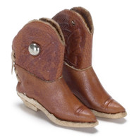 Real Leather Cowboy Boots