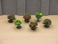 Six Tiny Little Bushes 20mm