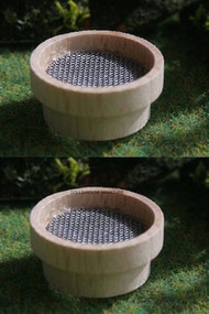 Two Garden Soil Sieves