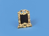 Brass Photo Frame with Embedded Jewels