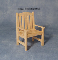 Plain Wood Garden Chair