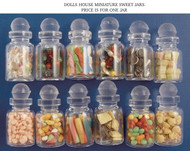 One Filled Glass Sweet Jars Choice of Twelve