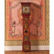Ornately Carved Grandfather Clock