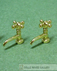 One Pair of Gold Coloured Taps
