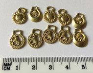 Set Of Ten Horse Brasses