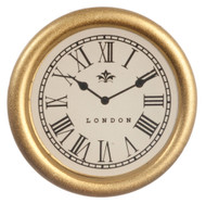Gold London Wall Clock