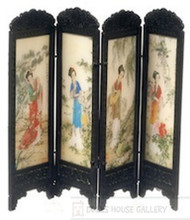 Chinese Folding Screen (Geisha)