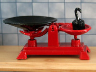 Red Weighing Scales
