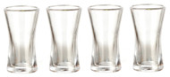 Set Of Four Curved Glasses