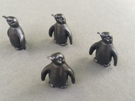 4 Black Penguins
