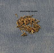 Brass Nails 4mm 100 Pack