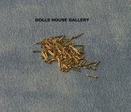 Brass Nails 6mm 100 Pack