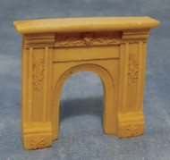 1/24th Scale Cream Fireplace