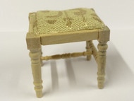 Bare Wood Dressing Table Stool