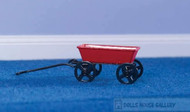 Small Red Toy Trolley
