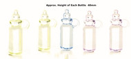 Five Large Baby Bottles 40mm