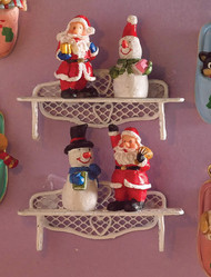 Festive Christmas Figurines 4 Pack