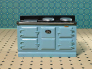 Light Blue Aga Stove