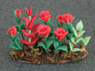 Red Roses In Earth