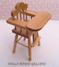 Pine High Chair