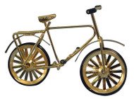 Small Childs Gold Bicycle