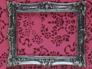 Antique Finish Solid Brass Frame, Small