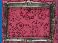 Antique Finish Solid Brass Frame, Medium